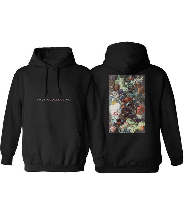 POETIC COLLECTIVE Classic Flower Hood - Black