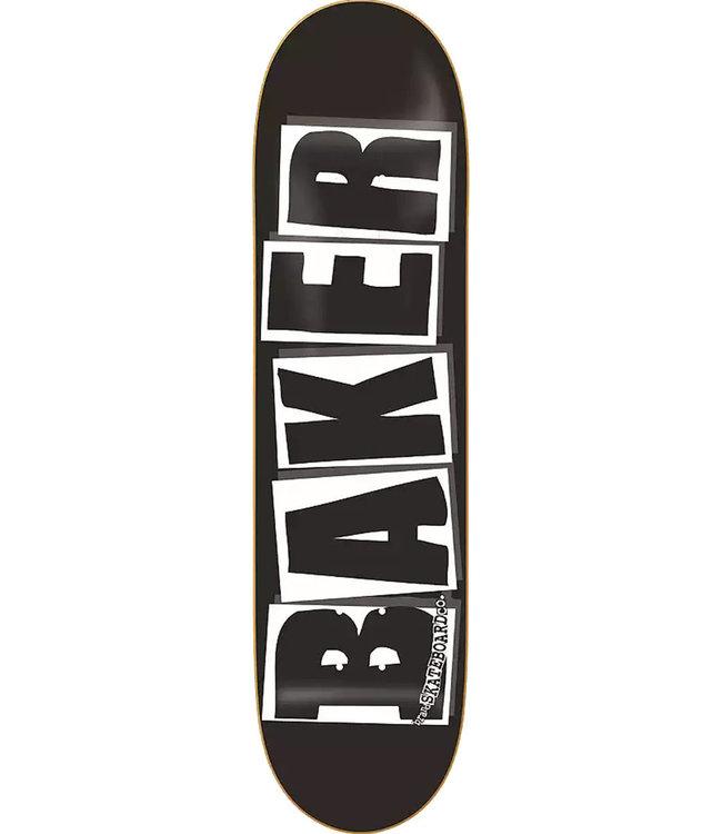 BAKER Brand Logo Deck Black - 8.375