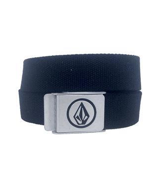 VOLCOM Circle Web Belt - Black
