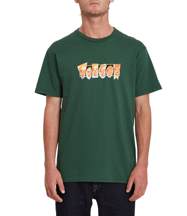 VOLCOM Louie Lopez Faces Ss Tee - Forest