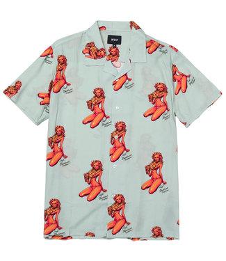 HUF Rockin Jelly Bean S/S Shirt - Mint
