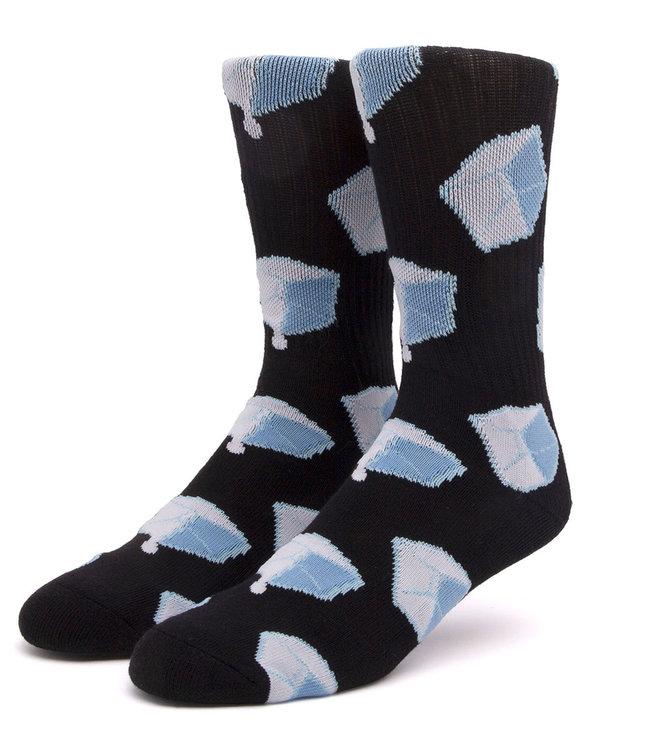 HUF Ice Melts Sock - Black