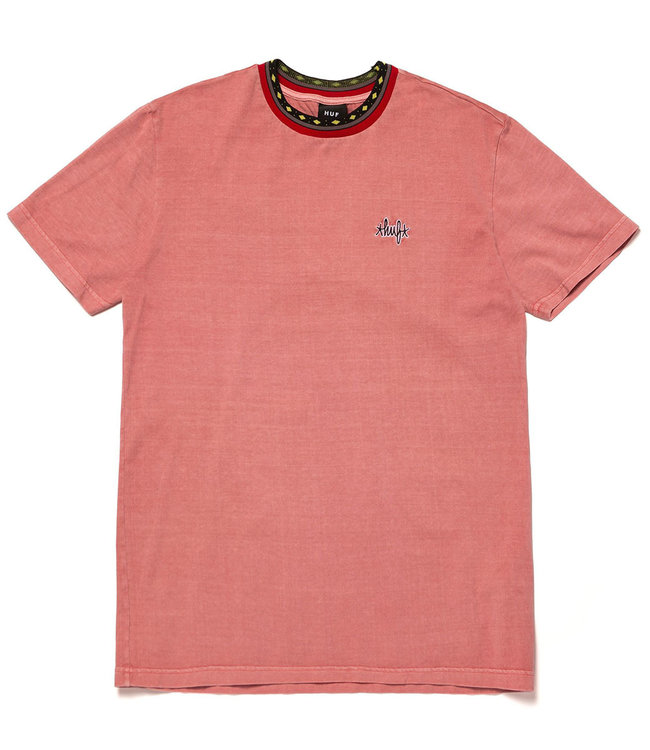 HUF Tobias S/S Knit Top - Dusty Rose