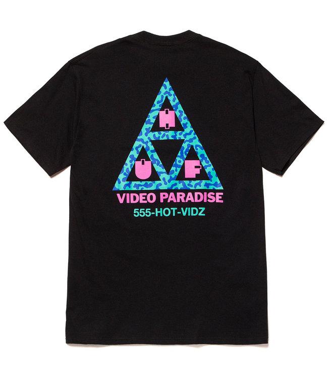 HUF Video Paradise TT S/S Tee - Black