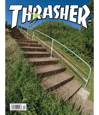 THRASHER Thrasher Magazine - April 2021