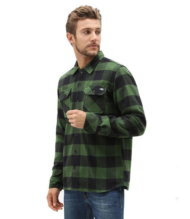 DICKIES New Sacramento Shirt - Pine Green