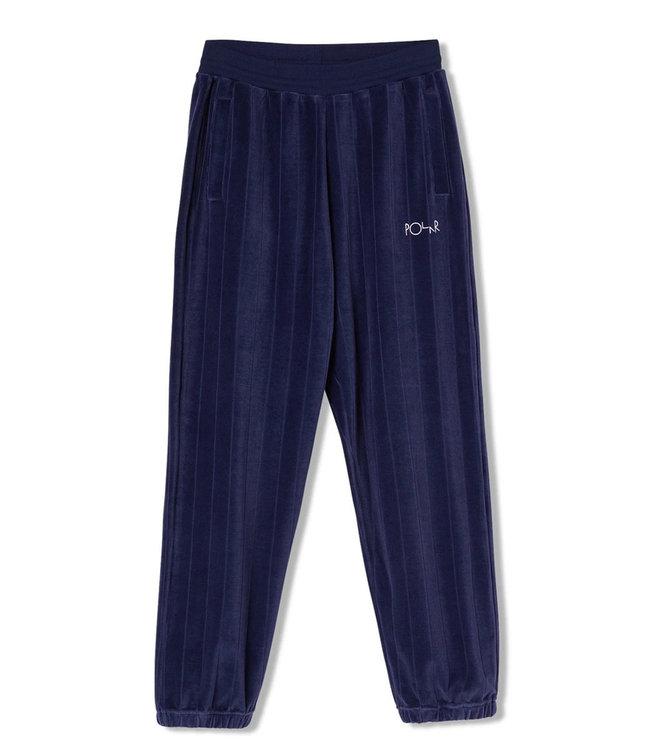 POLAR Velour Sweatpants - Rich Navy
