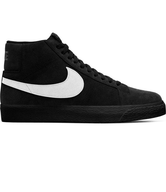 NIKE SB Blazer Mid - Black/White-Black-Black