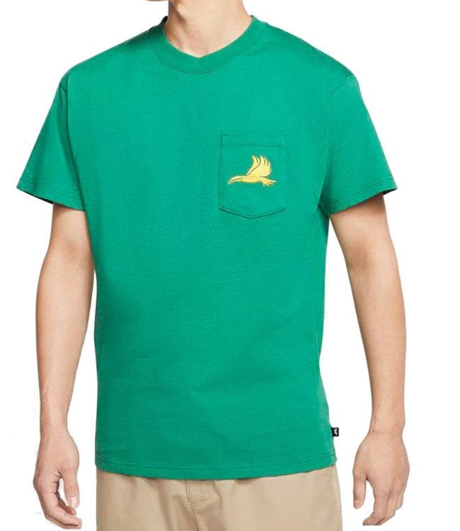 NIKE SB Men's Skate T-Shirt - Clover/Amarillo