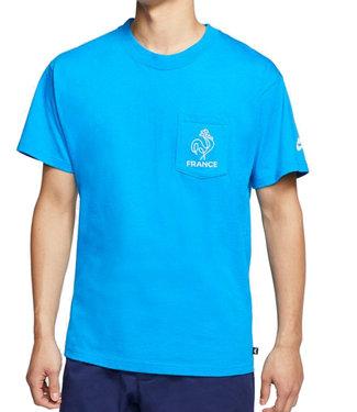 NIKE SB Men's Skate T-Shirt - Neptune Blue/White