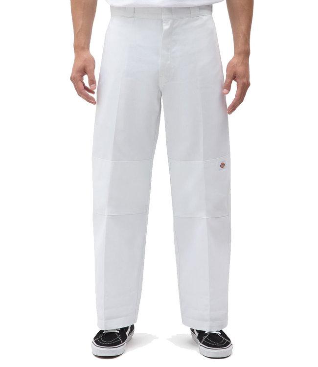 DICKIES Double Knee Work Pant - White