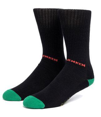 HUF The Portal Crew Sock - Black