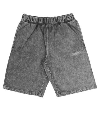 WASTED PARIS Short Faded Signature - Faded Black