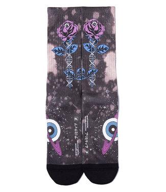 PRIMITIVE Stranded Sock - Black