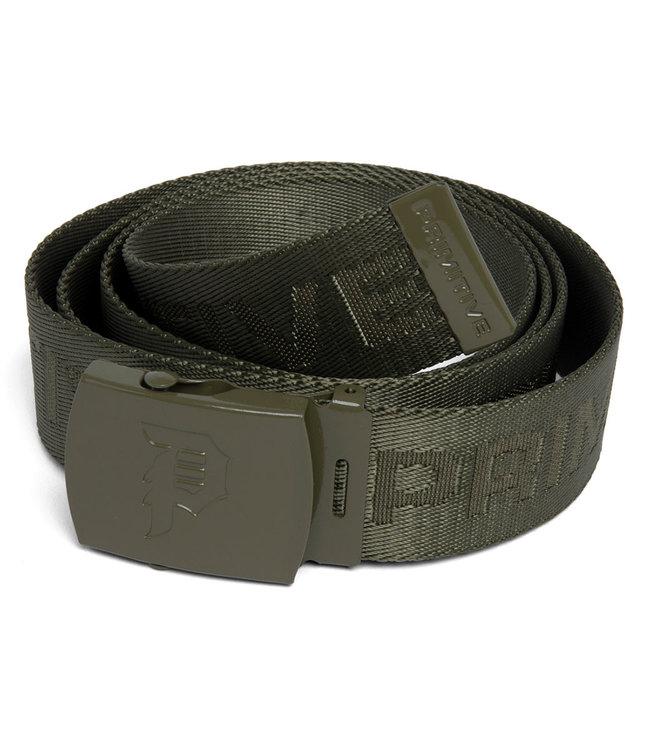 PRIMITIVE Hold Up Web Belt - Olive