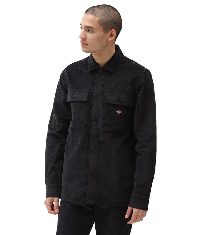 DICKIES Higginson Shirt Ls - Black