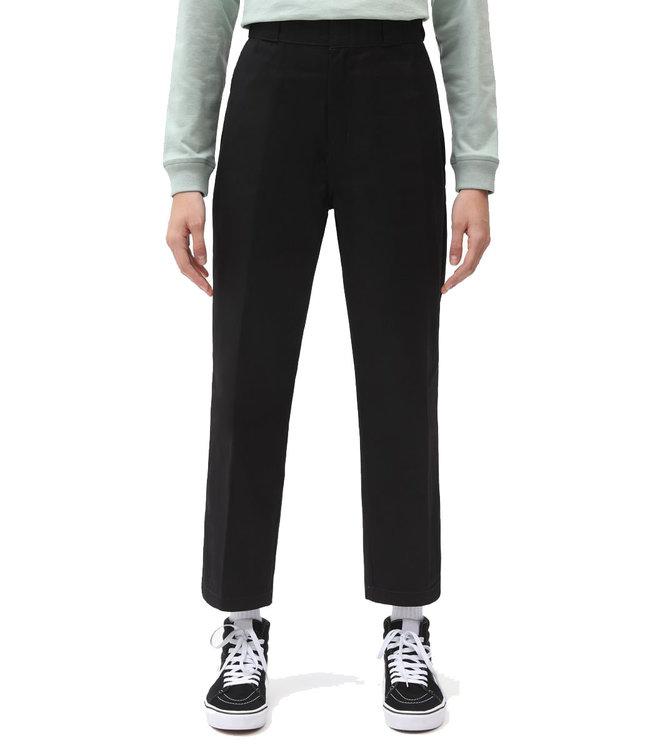 DICKIES 874 W Crop Cord Pant - Black