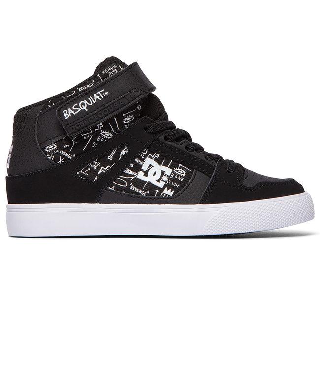 DC Basq Pure High-Top Ev - Black Print