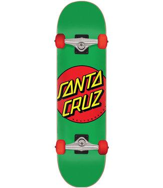SANTA CRUZ Classic Dot Mid Complete Green/Red - 7.8