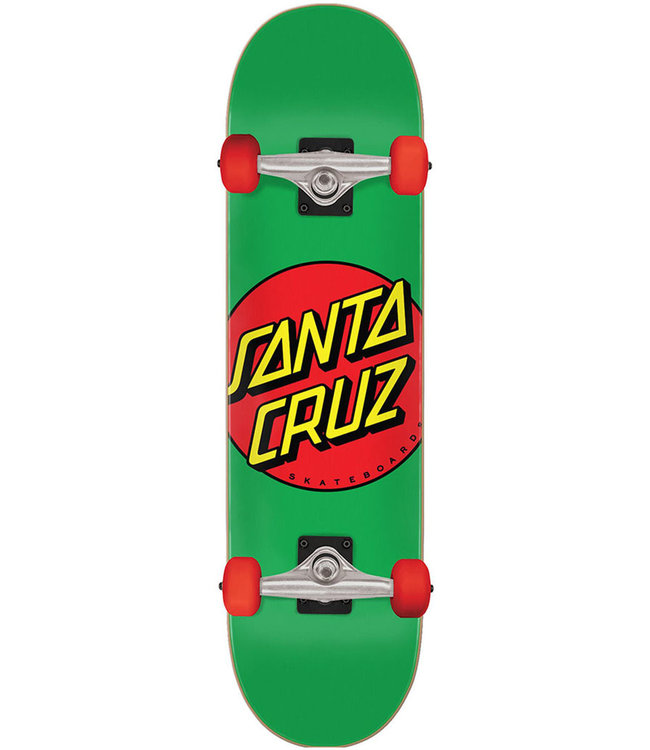 SANTA CRUZ Classic Dot Mid Complete Fa20 Green/Red - 7.8