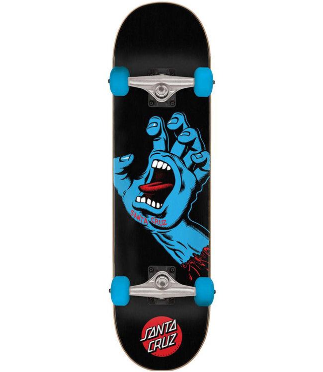 SANTA CRUZ Screaming Hand Full Complete Black/Blue - 8.0