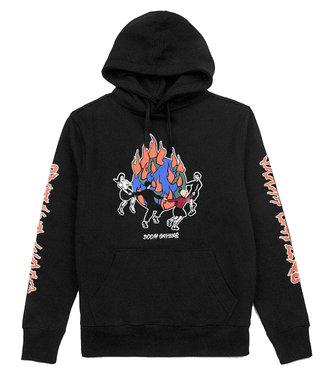 DOOM SAYERS World On Fire Hoodie  -  Black