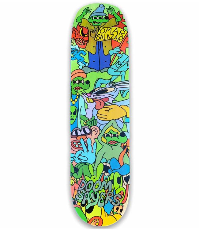 DOOM SAYERS Lil Kool Omar Deck Multi Color - 8.4