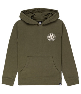 ELEMENT Seal Bp Hood Youth - Army