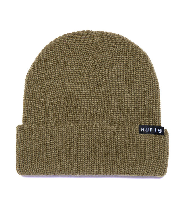 HUF Essentials Usual Beanie - Olive