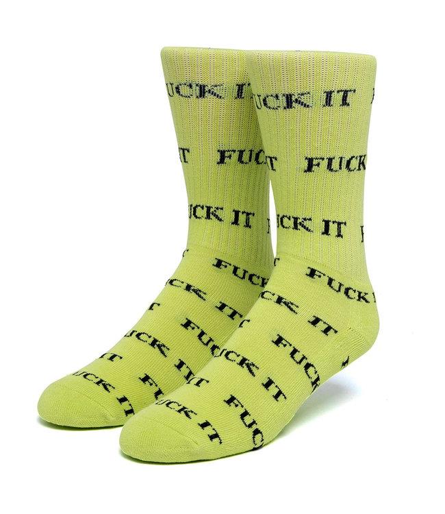 HUF Fuck It Sock - Huf Green
