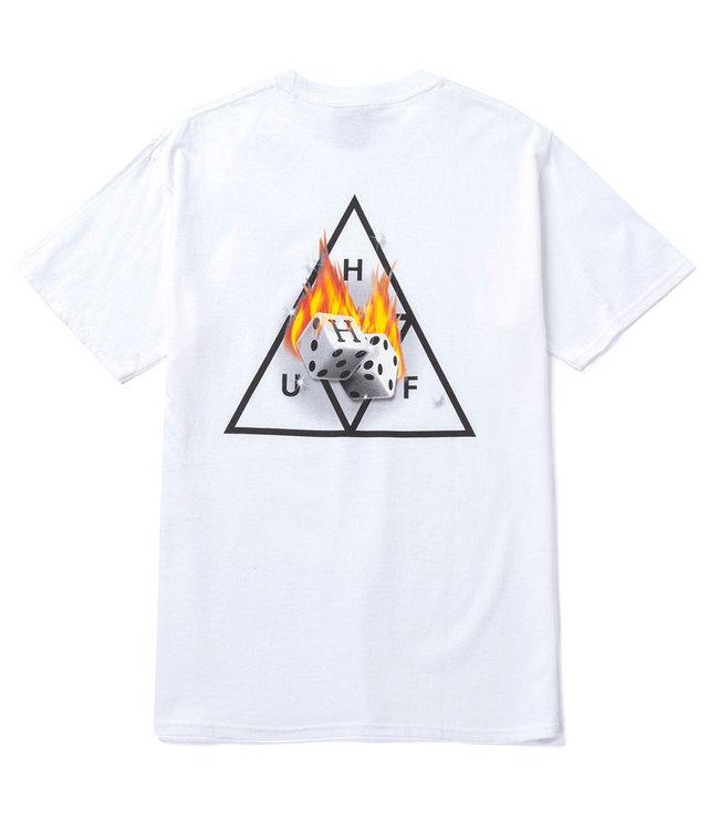 HUF Hot Dice Tt S/S Tee - White