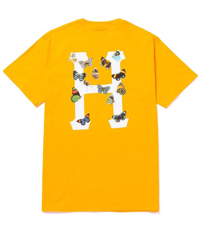 HUF Prey Classic H S/S Tee - Gold