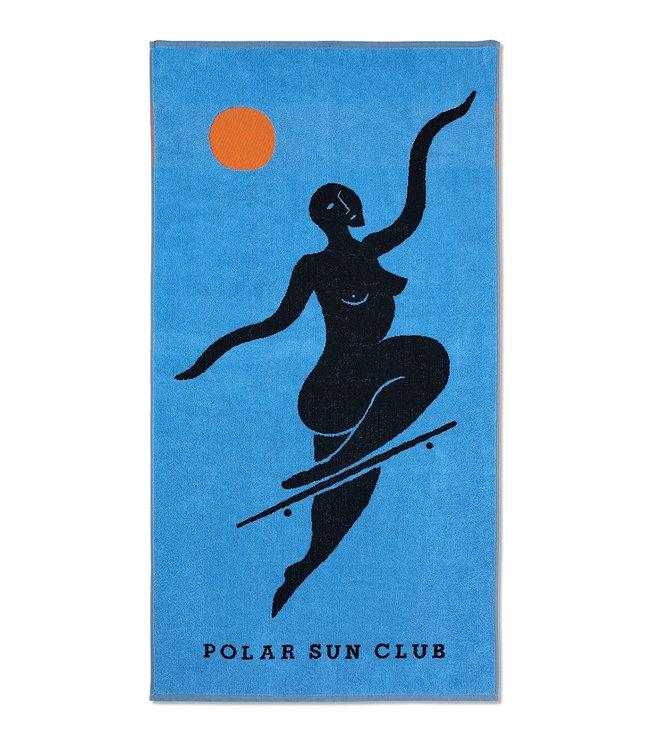 POLAR No Complies Forever Beach Towel - Blue