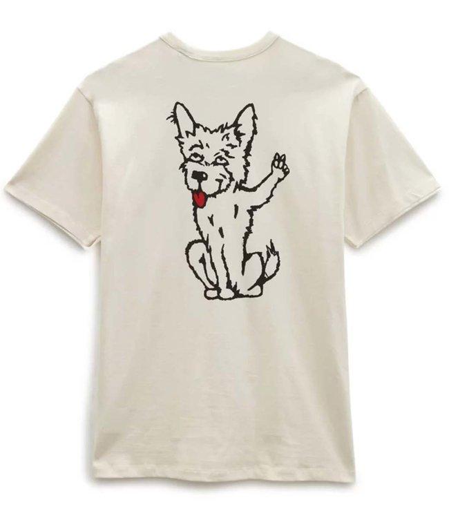 VANS Vans X Tyson P Dog Off The Wall Tee - Antique White