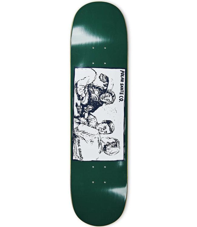 POLAR Paul Grund Cold Streak Deck Dark Green - 8.0