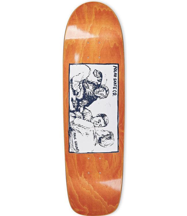 POLAR Paul Grund Cold Streak Deck Orange - SURF JR