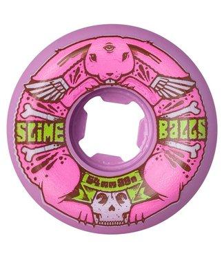 SANTA CRUZ Jeremy Fish Bunny Speed Balls Pink - 54mm 99a