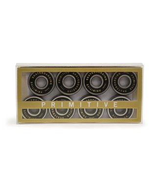 PRIMITIVE Single Pack Bearings - White/gold