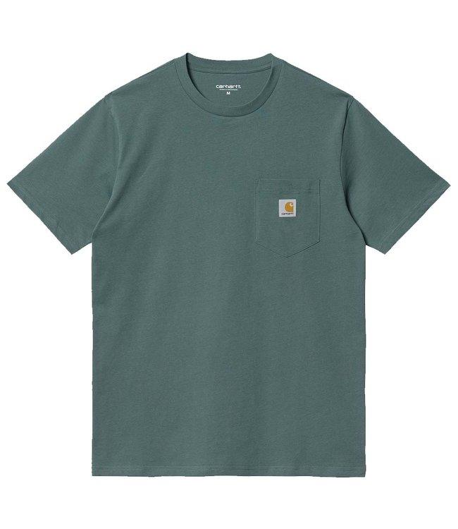 CARHARTT S/S Pocket T-Shirt - Eucalyptus