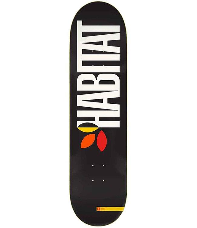 HABITAT Apex Bold Deck Black - 8.25