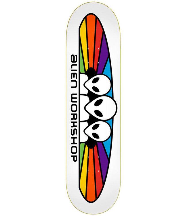 ALIEN WORKSHOP Spectrum Deck White - 8.0