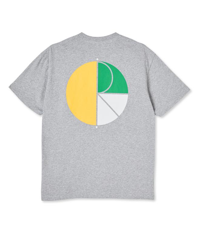POLAR 3 Tone Fill Logo Tee - Sport Grey