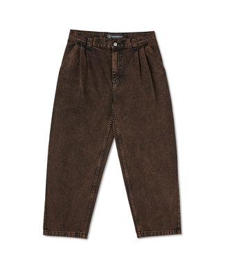 POLAR Grund Chinos - Brown Black