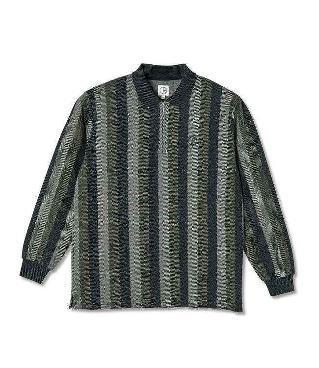 POLAR Jacques Longlseeve Polo Shirt - Khaki