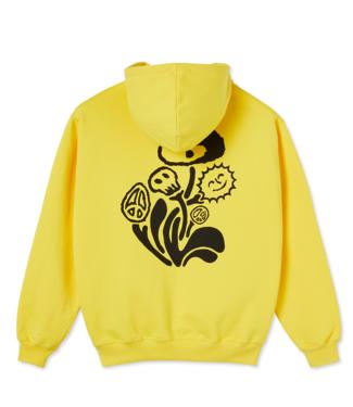 POLAR Trippin' Hoodie - Lemon