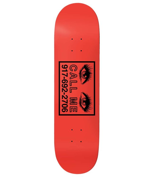 CALL ME 917 Eyes Red Deck - 8.5