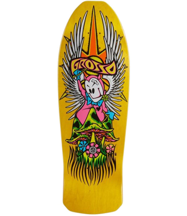"""Grosso """"Forever"""" 89 Reissue Deck Yellow Stain - 10.25"""