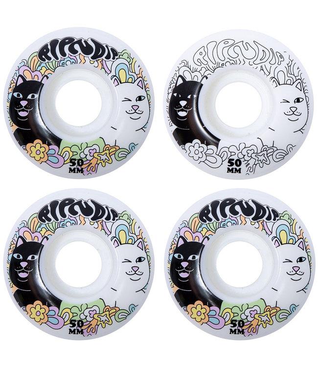 RIPNDIP Flower Child Skate Wheels Multi - 52mm