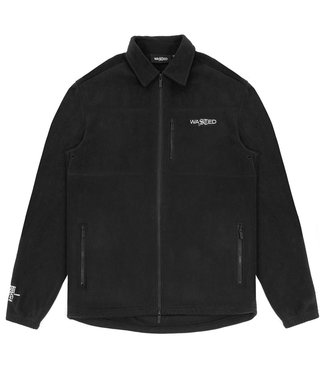 WASTED PARIS Shirt Shiver Polar - Black