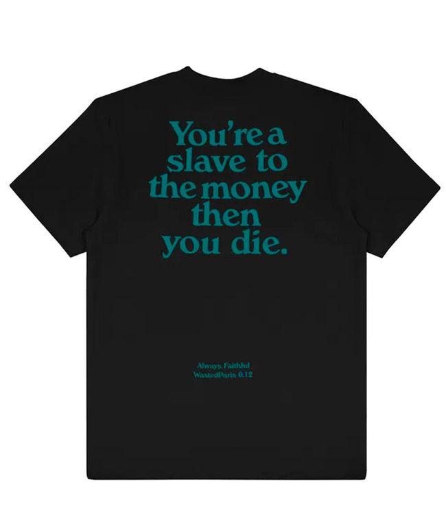 WASTED PARIS T-Shirt Slave - Black